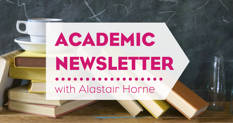 Academic Newsletter, October 2016
