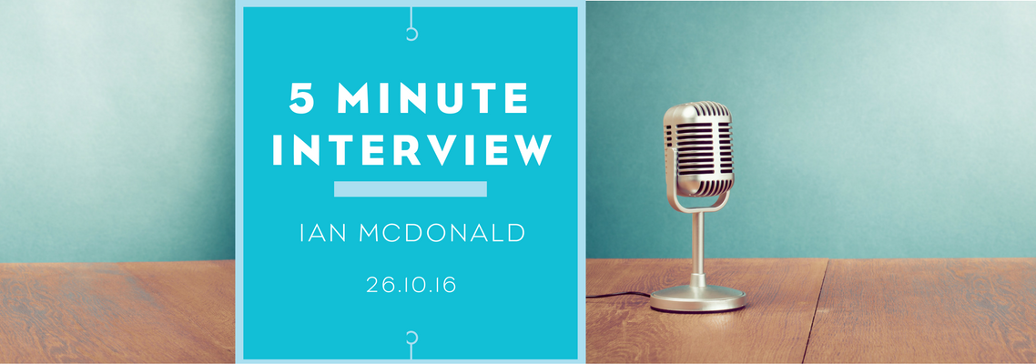 5 minutes with Ian McDonald