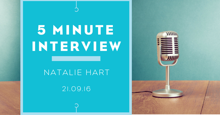 5 minutes with Natalie Hart