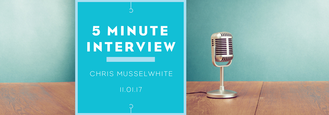 5 minute interview with Paul Hamblin
