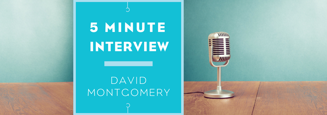 5 minutes with David Montgomery