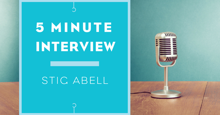 5 Minutes with Stig Abell
