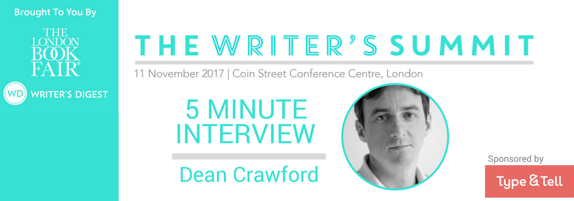 5 Minute Interview Dean Crawford