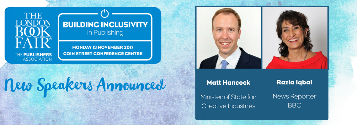 Minister of State for Creative Industries to headline the Building Inclusivity in Publishing conference