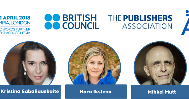 LBF announces Authors of the Day for  Market Focus Baltic Countries