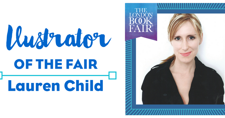 Lauren Child Announced as LBF'S Inaugural Illustrator of the Fair