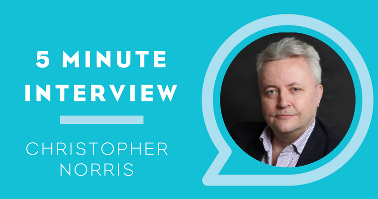 5 Minutes with Christopher Norris