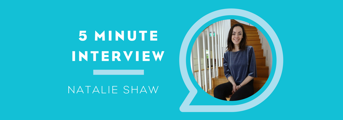 5 Minutes with Natalie Shaw