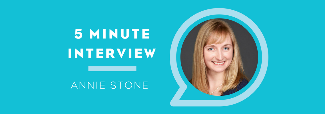 5 Minutes with Annie Stone
