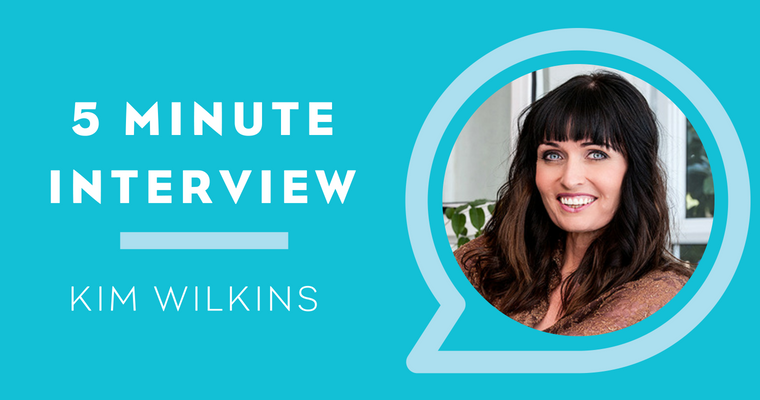 5 Minute Interview with Kim Wilkins