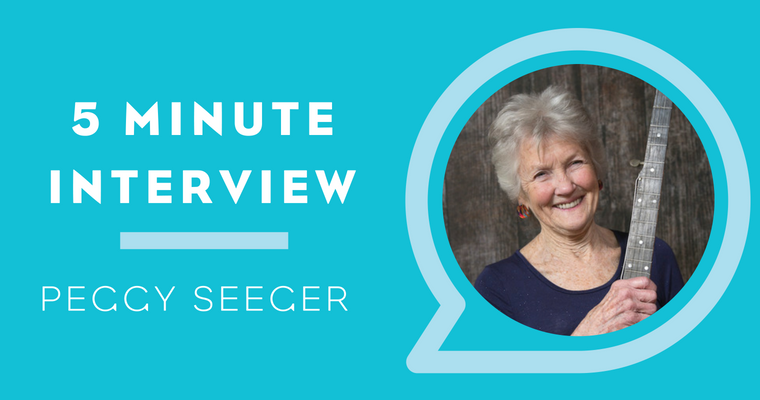5 Minutes With Peggy Seeger