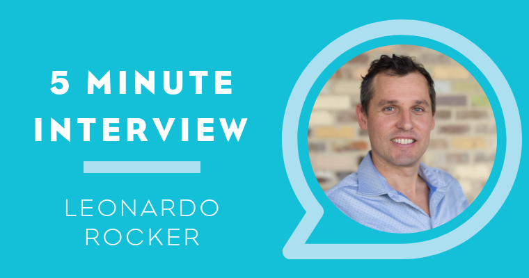 5 Minute Interview with Leonardo Rocker