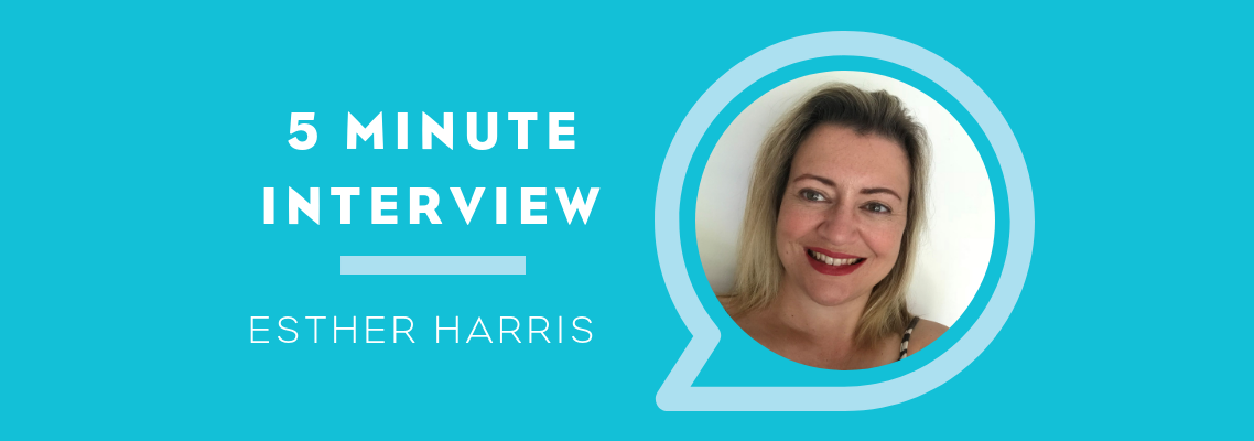 Five Minutes with Esther Harris