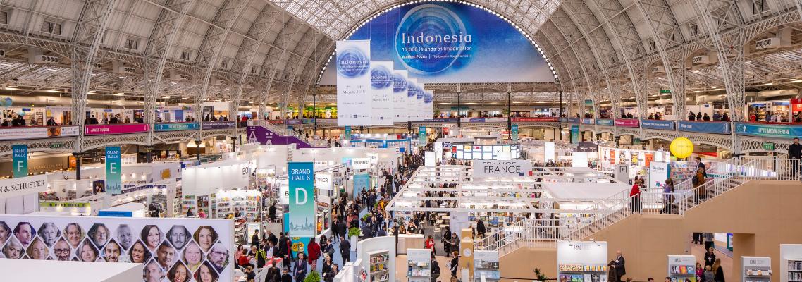 Ian McEwan, Caryl Phillips, Slaughter, David McKee and More Kick Off London Book Fair 2019