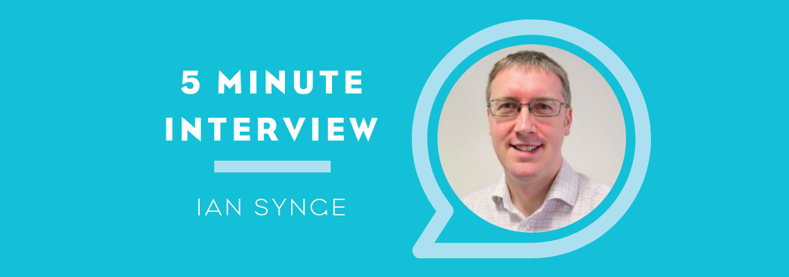 5 Minutes with Ian Synge