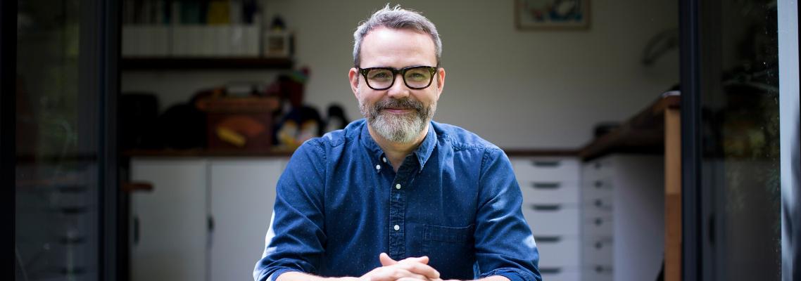 Rob Biddulph Announced as LBF's  Illustrator of the Fair